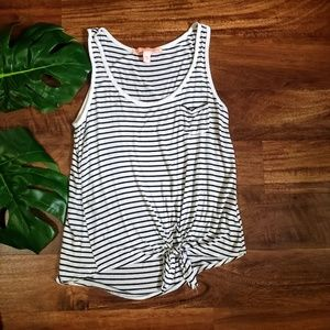 ☀️5/$25☀️ Rebellious One Striped Tank